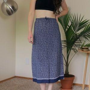 Floral midi skirt (Gap)